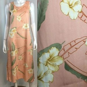 Tommy Bahama Silk Floral Herringbone Twill Dress
